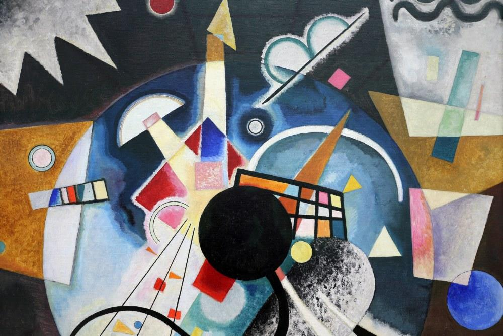 A Centre 2, Vasily Kandinsky, Canvas, Vasily Kandinsky, kanvas tablo, canvas print sales