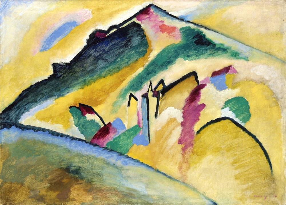 Sonbahar Manzarası, Vasily Kandinsky, Kanvas Tablo, Vasily Kandinsky, kanvas tablo, canvas print sales