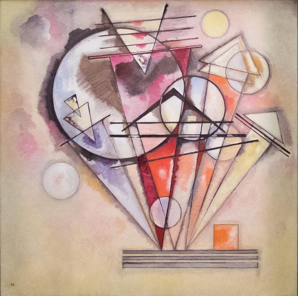 Sivri Uçlarda, Vasily Kandinsky, Kanvas Tablo, Vasily Kandinsky, kanvas tablo, canvas print sales