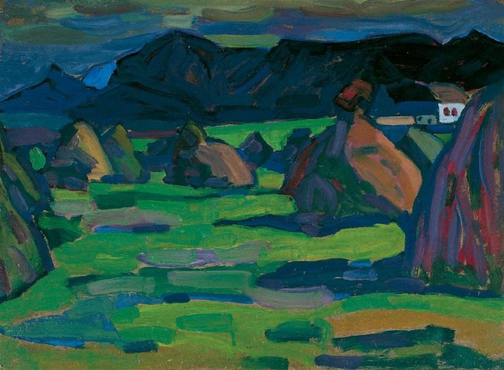 Kornhausten Murnau Herb, Vasily Kandinsky, Canvas, Vasily Kandinsky, kanvas tablo, canvas print sales