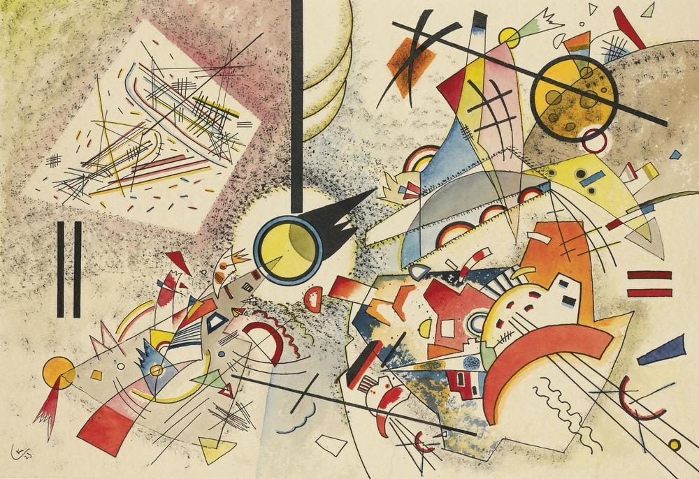 Başlıksız, Vassily Kandinsky, Kanvas Tablo, Vasily Kandinsky, kanvas tablo, canvas print sales