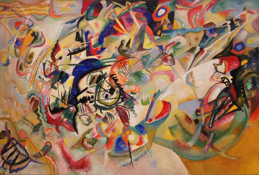 Vasily Kandinsky, Kompozisyon 7, Kanvas Tablo, Vasily Kandinsky, kanvas tablo, canvas print sales