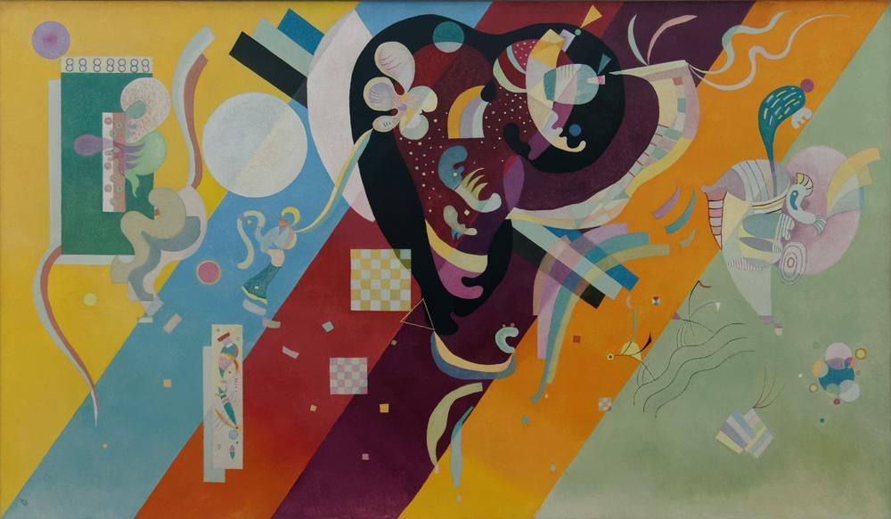 Vasily Kandinsky, Kompozisyon 9, Kanvas Tablo, Vasily Kandinsky, kanvas tablo, canvas print sales