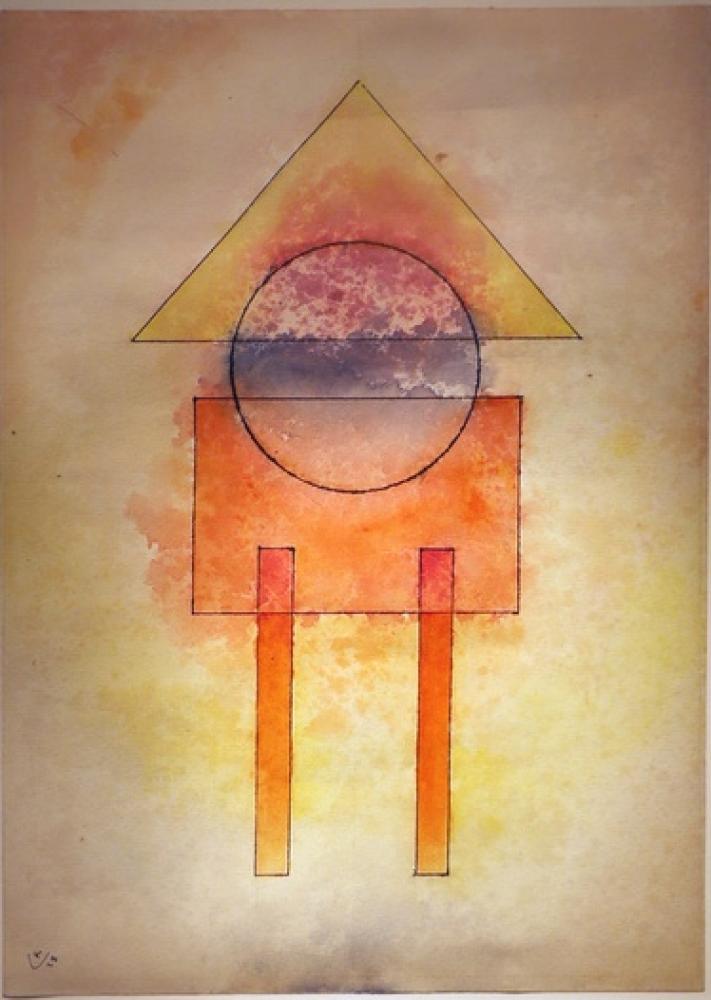 Vasily Kandinsky, Daire İçinde Mavi, Kanvas Tablo, Vasily Kandinsky, kanvas tablo, canvas print sales