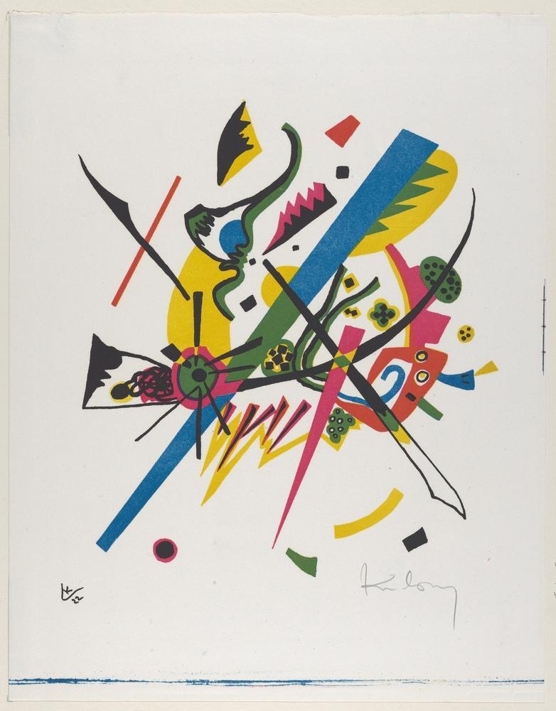 Vasily Kandinsky, Küçük Dünyalar 1, Kanvas Tablo, Vasily Kandinsky, kanvas tablo, canvas print sales