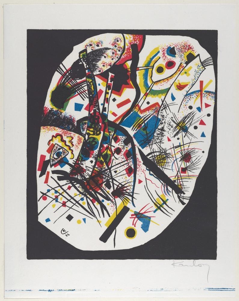 Vasily Kandinsky, Küçük Dünyalar 3, Kanvas Tablo, Vasily Kandinsky, kanvas tablo, canvas print sales