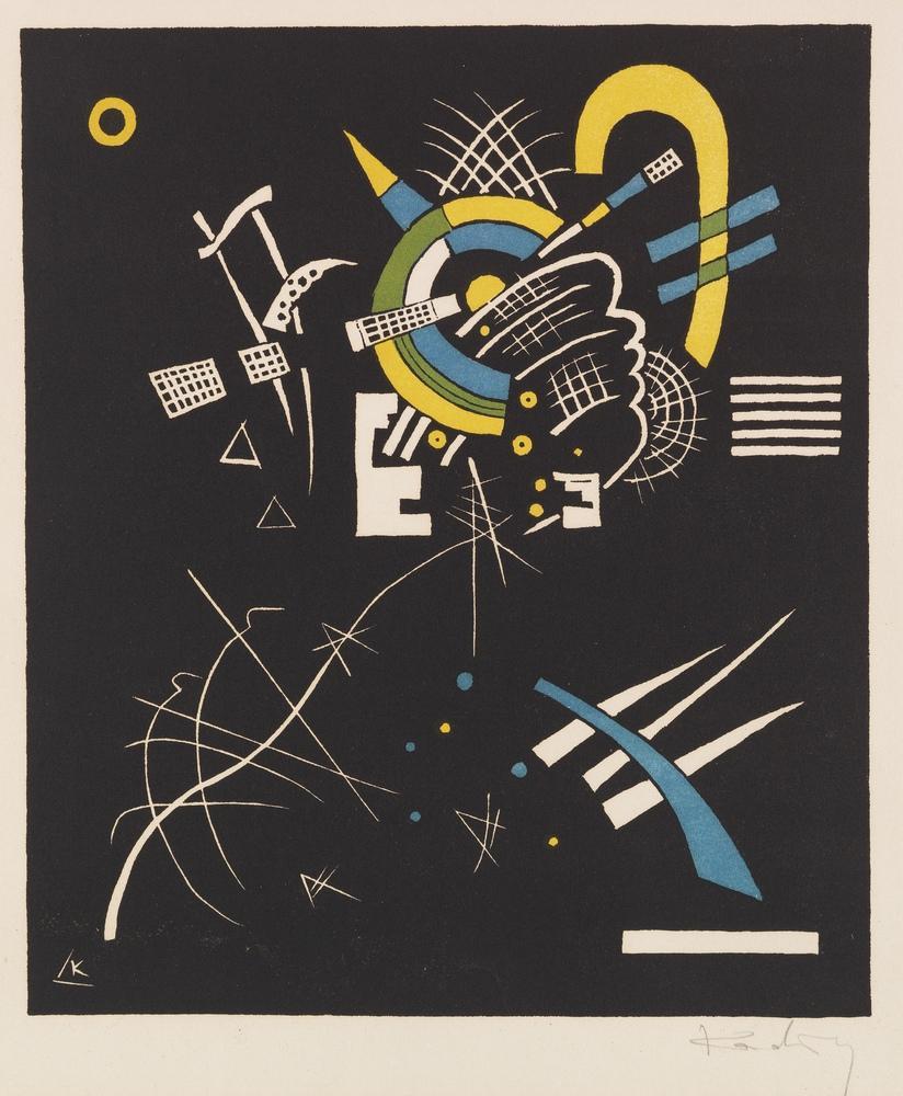 Vasily Kandinsky, Küçük Dünyalar 7, Kanvas Tablo, Vasily Kandinsky, kanvas tablo, canvas print sales