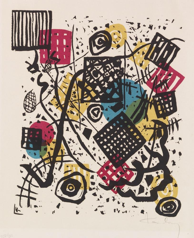 Vasily Kandinsky, Küçük Dünyalar 5, Kanvas Tablo, Vasily Kandinsky, kanvas tablo, canvas print sales