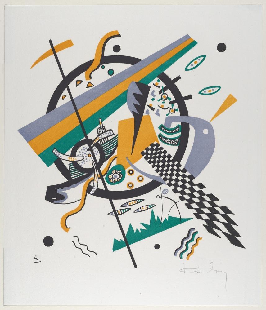 Vasily Kandinsky, Küçük Dünyalar 4, Kanvas Tablo, Vasily Kandinsky, kanvas tablo, canvas print sales