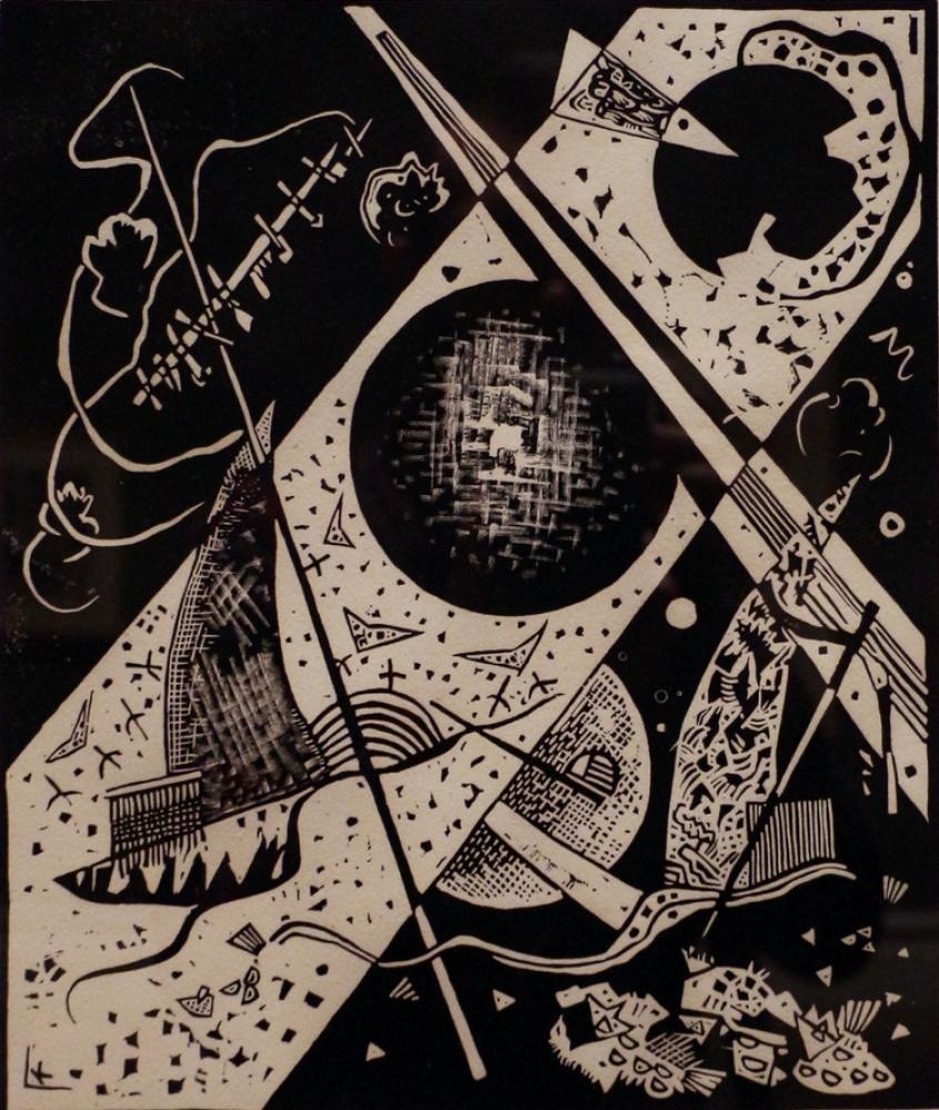 Vasily Kandinsky, Küçük Dünyalar 6, Kanvas Tablo, Vasily Kandinsky, kanvas tablo, canvas print sales