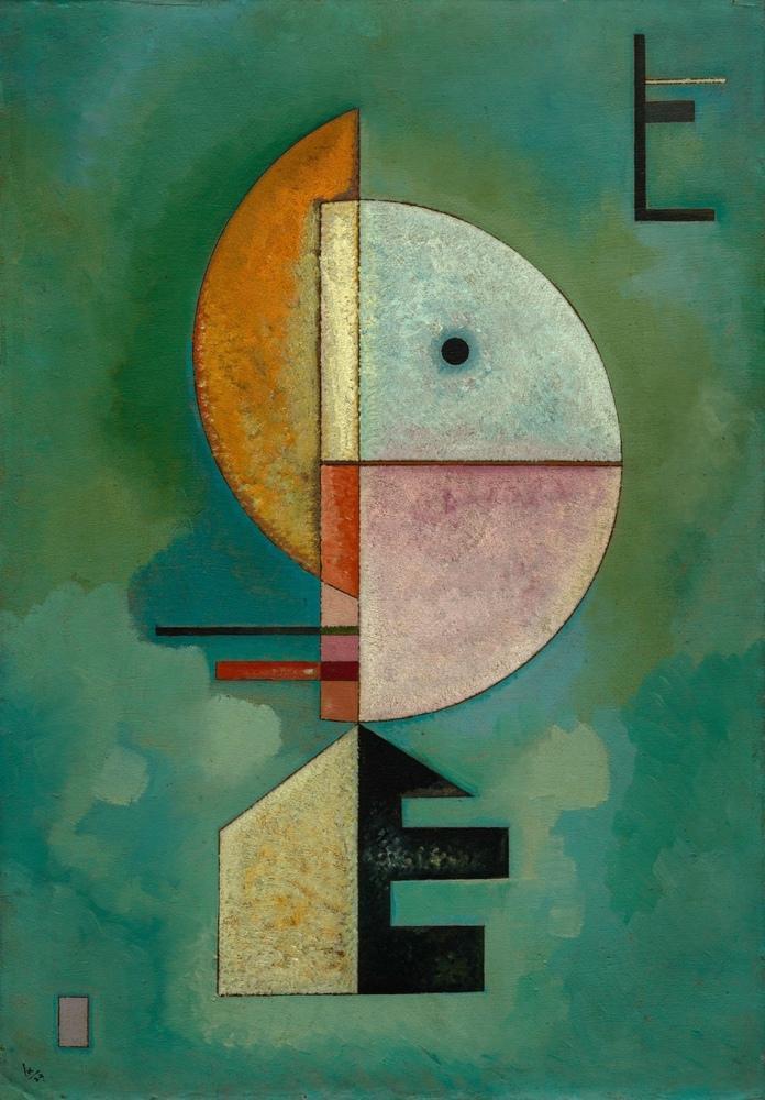 Vasily Kandinsky, Yukarı, Kanvas Tablo, Vasily Kandinsky, kanvas tablo, canvas print sales