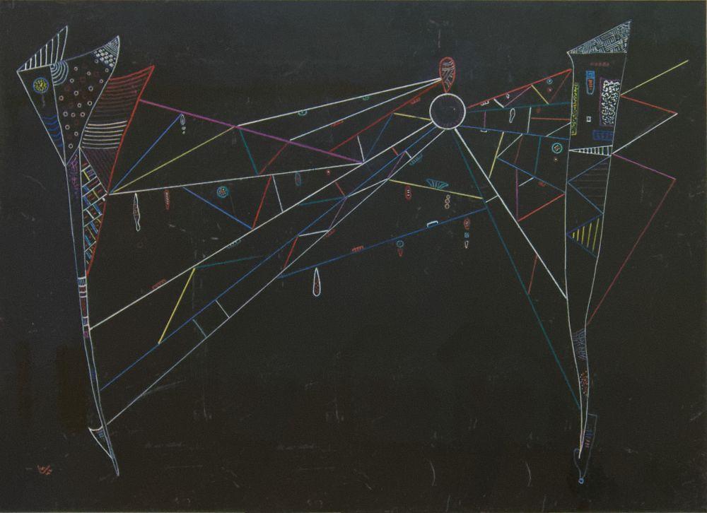 Vasily Kandinsky, Net (Le Filet), Kanvas Tablo, Vasily Kandinsky, kanvas tablo, canvas print sales