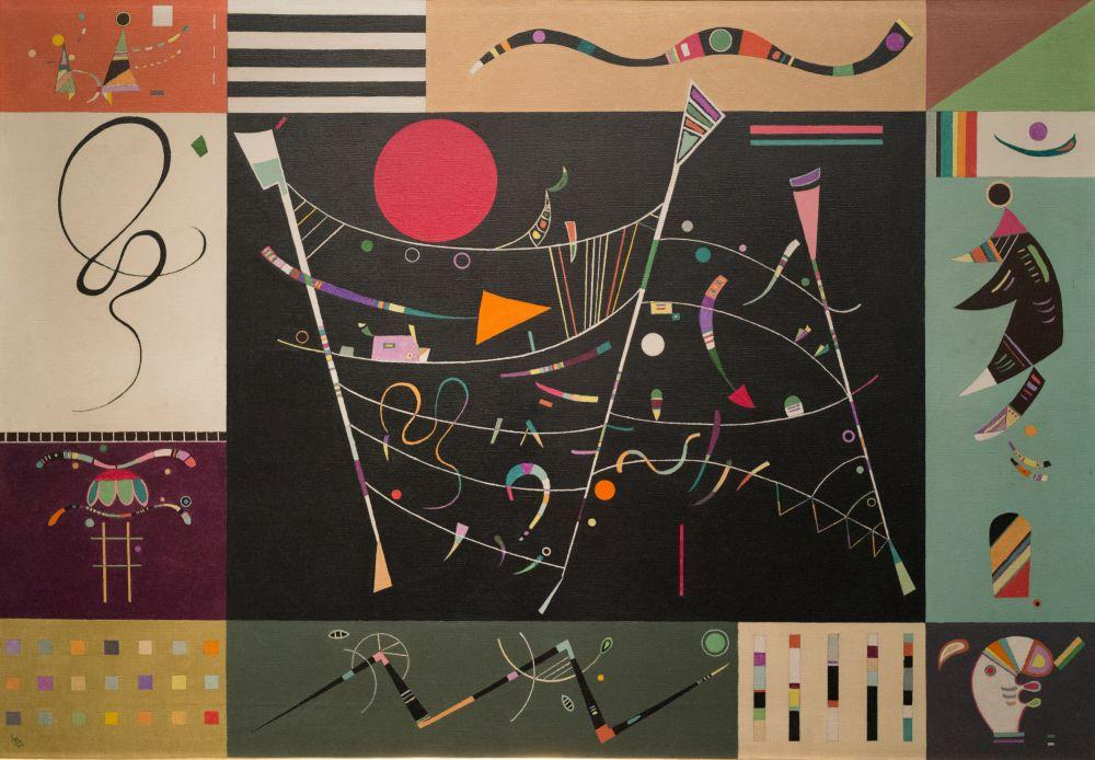 Vasily Kandinsky, Bütün (Tam), Kanvas Tablo, Vasily Kandinsky, kanvas tablo, canvas print sales