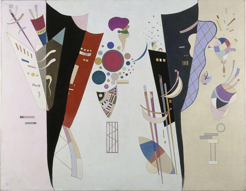 Vasily Kandinsky, Karşılıklı Anlaşmalar, Kanvas Tablo, Vasily Kandinsky, kanvas tablo, canvas print sales