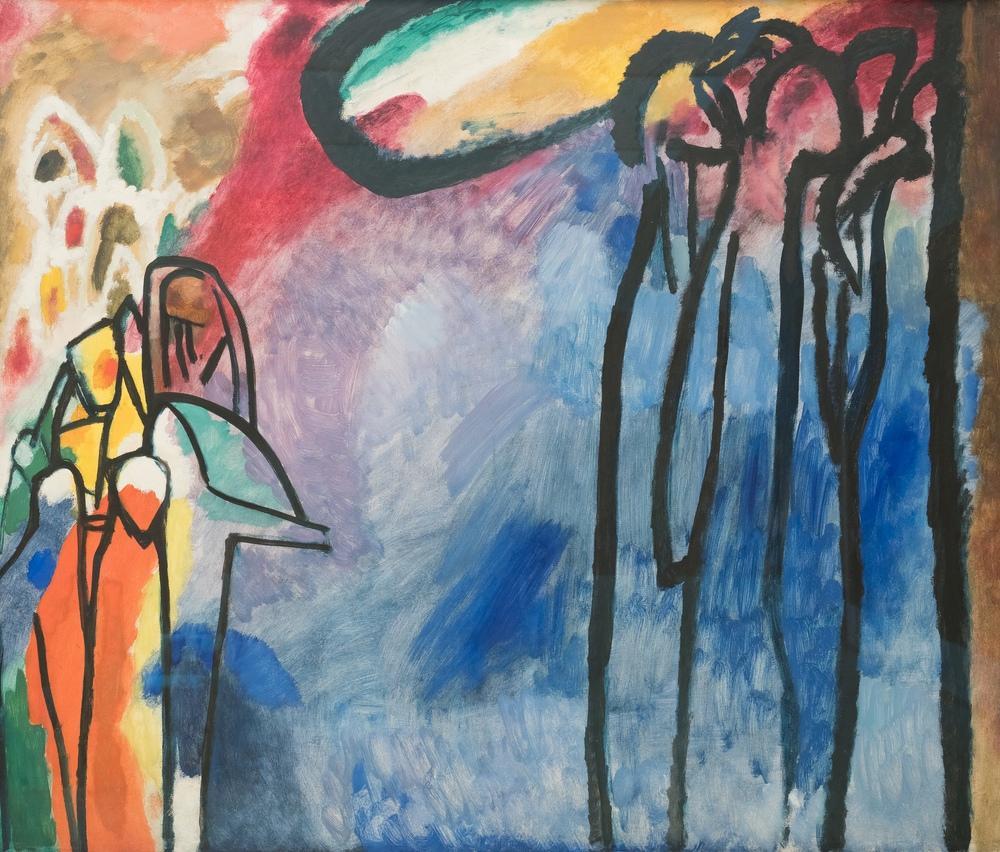 Vasily Kandinsky, Dogaclama 19, Kanvas Tablo, Vasily Kandinsky, kanvas tablo, canvas print sales