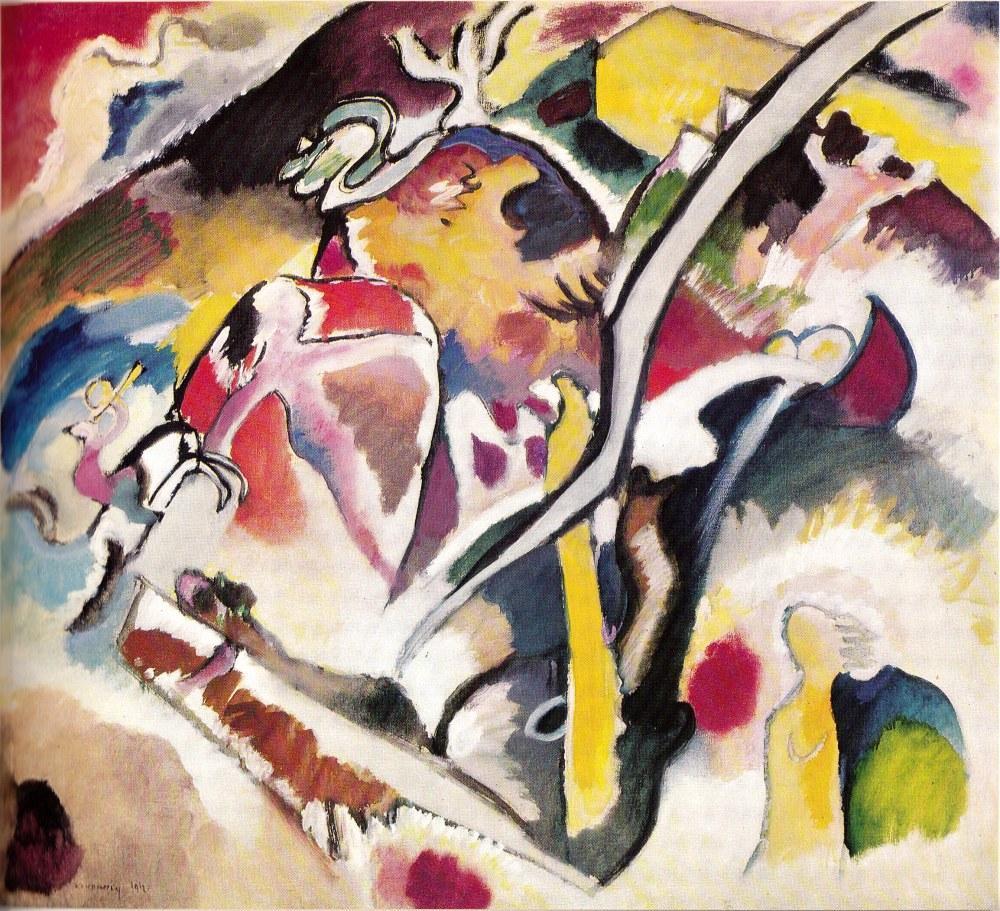Sel, Vasily Kandinsky, Kanvas Tablo, Vasily Kandinsky, kanvas tablo, canvas print sales