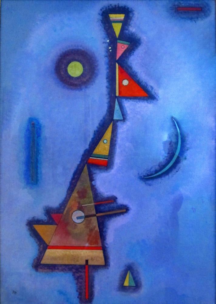 Vasily Kandinsky, İnatçı, Kanvas Tablo, Vasily Kandinsky, kanvas tablo, canvas print sales