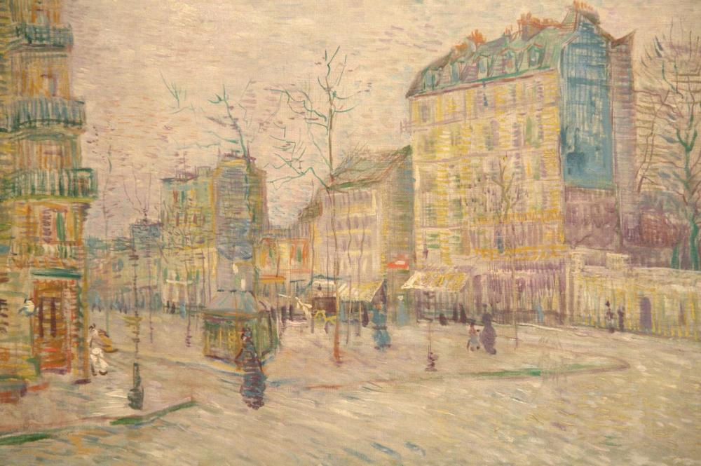 Vincent van Gogh, Boulevard de Clichy, Kanvas Tablo, Vincent Van Gogh, kanvas tablo, canvas print sales
