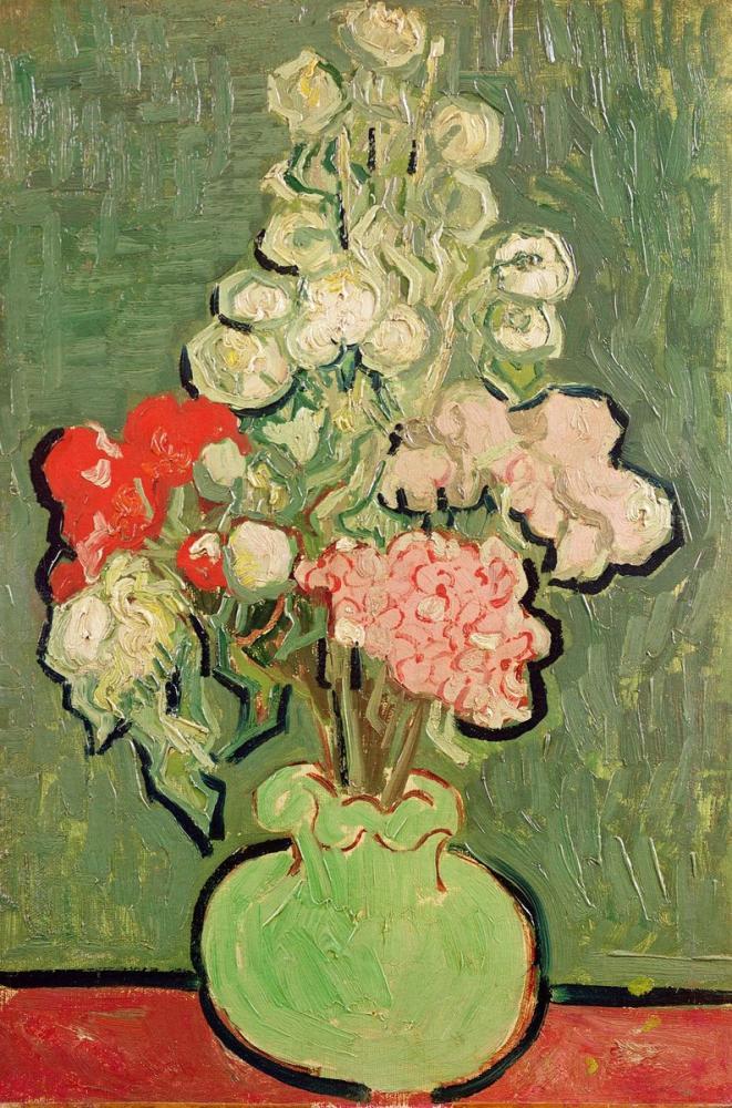 Vincent van Gogh, Bouquet of Flowers, Canvas, Vincent Van Gogh, kanvas tablo, canvas print sales