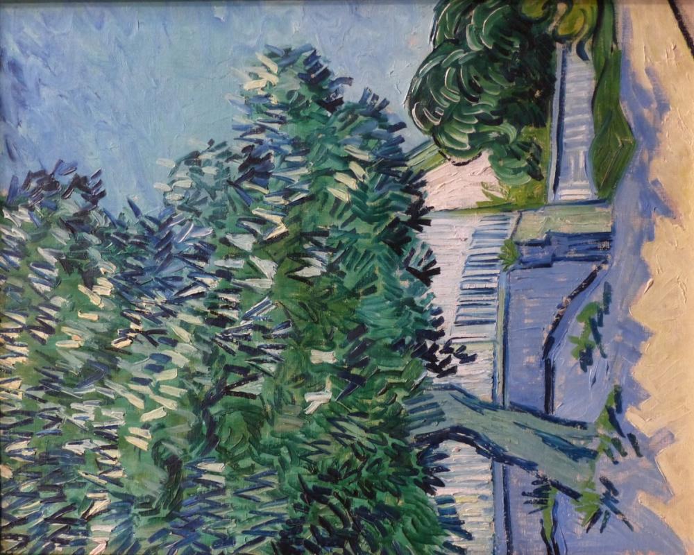 Vincent van Gogh, Chestnut Trees in Bloom Auvers sur Oise, Canvas, Vincent Van Gogh, kanvas tablo, canvas print sales