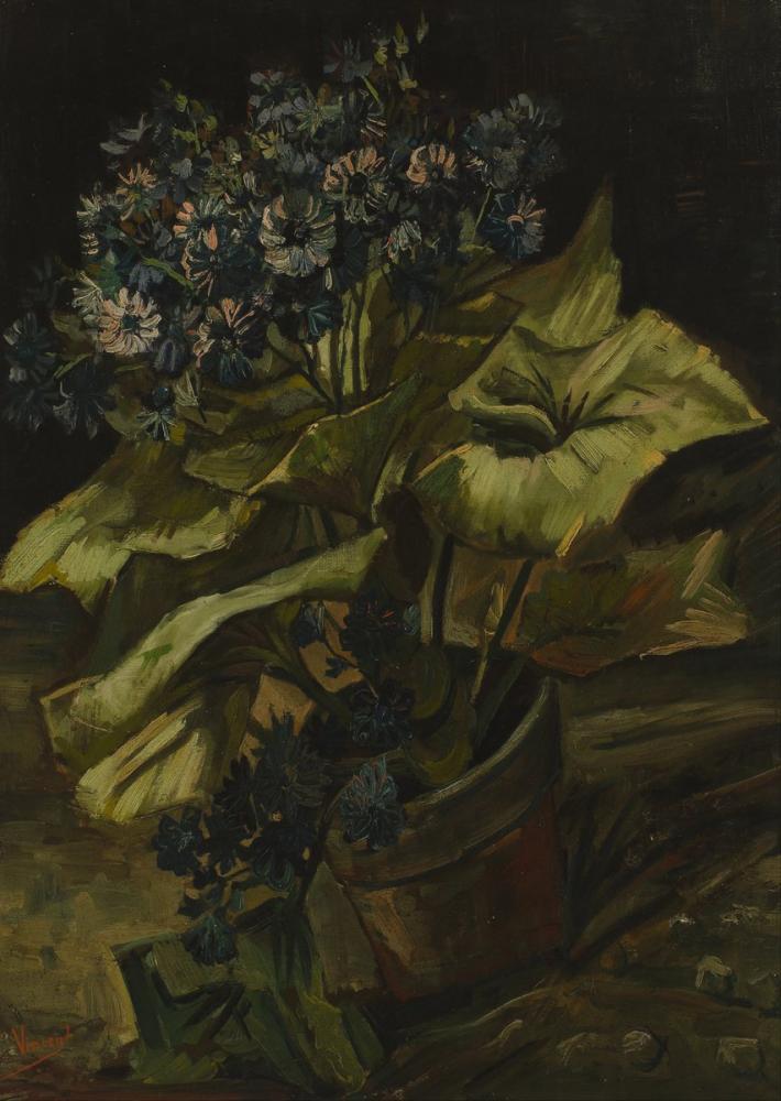 Vincent van Gogh, Cineraria, Canvas, Vincent Van Gogh, kanvas tablo, canvas print sales
