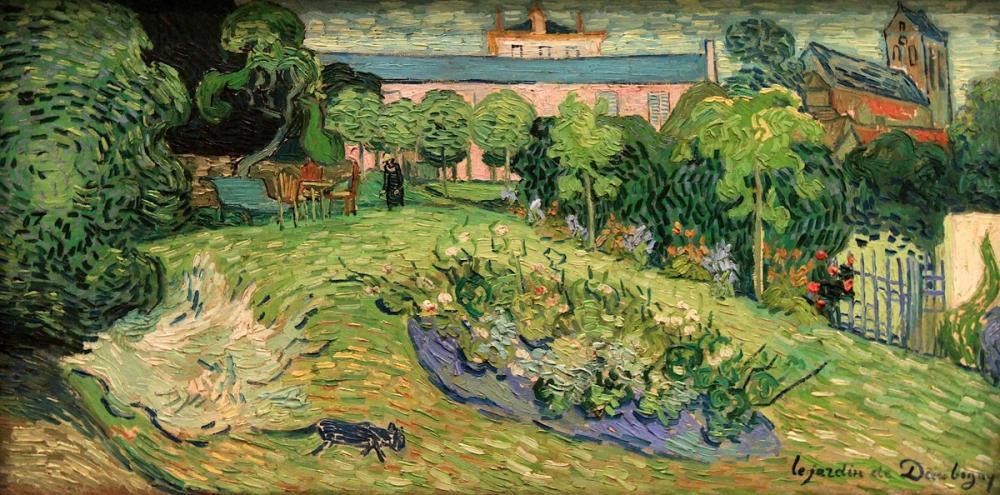 Vincent van Gogh, Daubigny nin Bahçesi, Kanvas Tablo, Vincent Van Gogh, kanvas tablo, canvas print sales