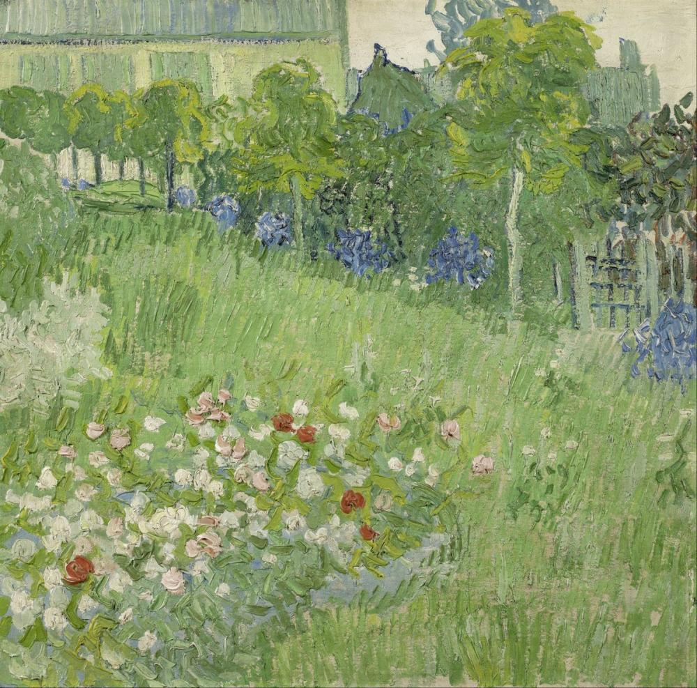Vincent van Gogh, Daubigny s Garden, Canvas, Vincent Van Gogh, kanvas tablo, canvas print sales