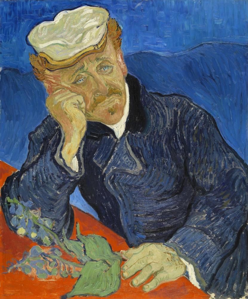 Vincent van Gogh, Dr Paul Gachet, Kanvas Tablo, Vincent Van Gogh, kanvas tablo, canvas print sales