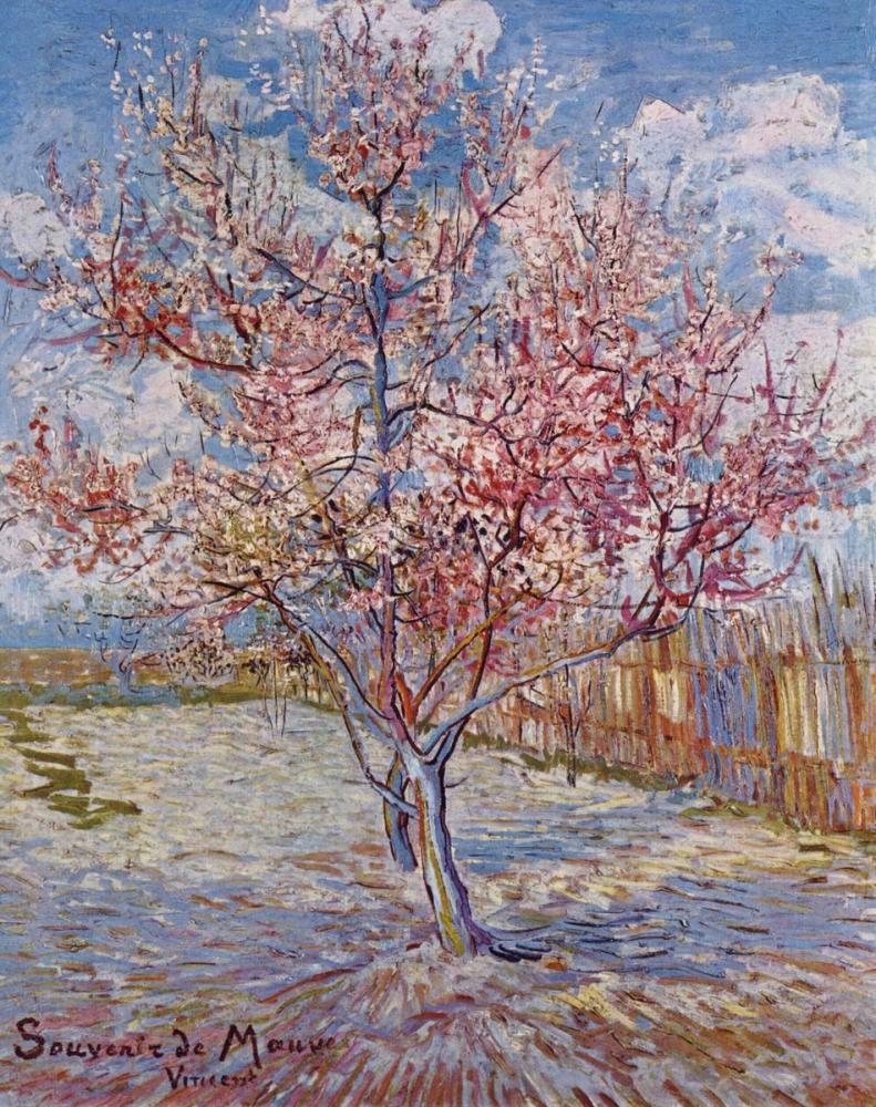 Vincent van Gogh, Flowering Orchards, Canvas, Vincent Van Gogh, kanvas tablo, canvas print sales