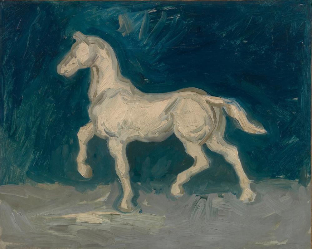Vincent van Gogh, At, Kanvas Tablo, Vincent Van Gogh, kanvas tablo, canvas print sales