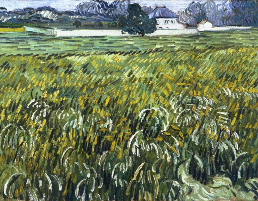 Vincent van Gogh, House at Auvers, Canvas, Vincent Van Gogh, kanvas tablo, canvas print sales
