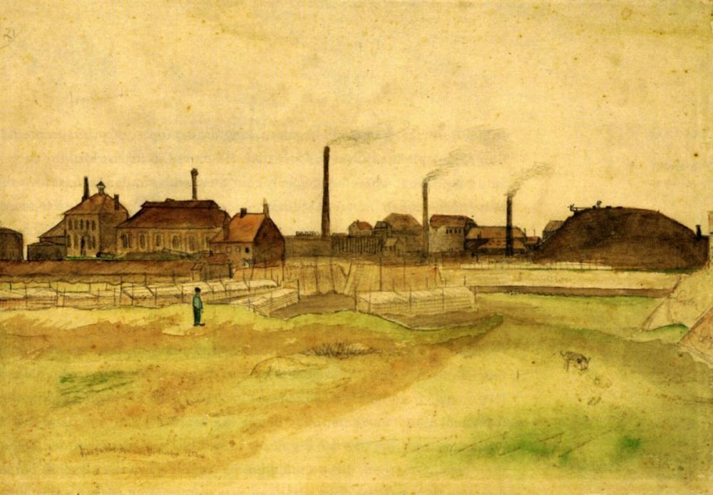 Vincent van Gogh, in Belgium, Canvas, Vincent Van Gogh, kanvas tablo, canvas print sales