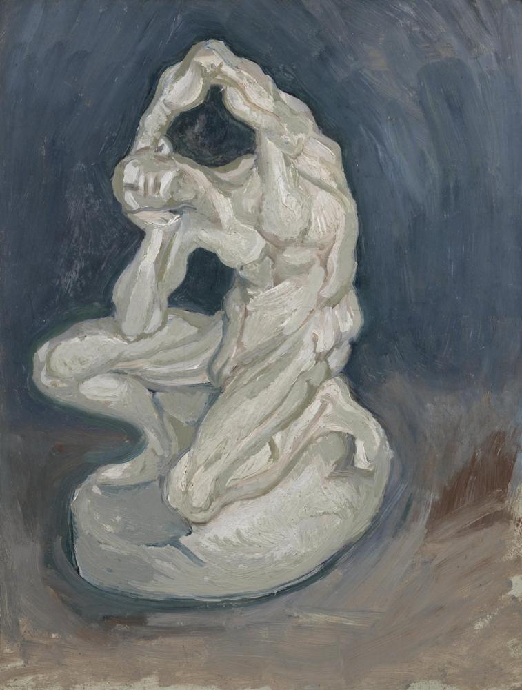 Vincent van Gogh, Diz Çökmüş Gövde, Figür, Vincent Van Gogh, kanvas tablo, canvas print sales