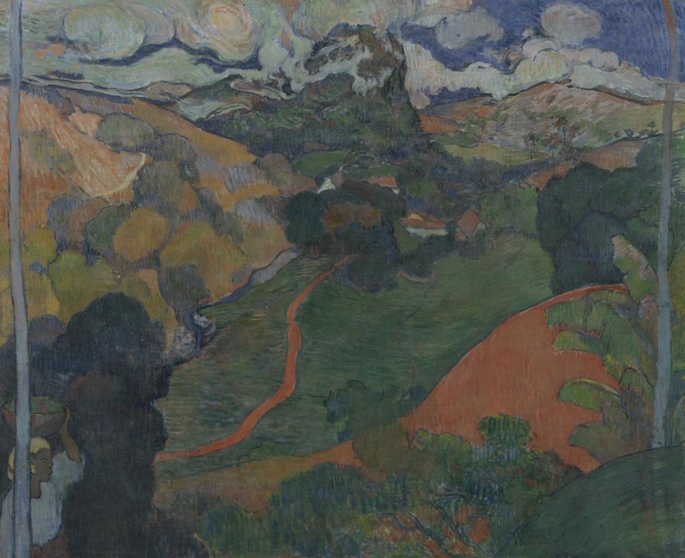 Vincent van Gogh, Landscape on Martinique, Canvas, Vincent Van Gogh, kanvas tablo, canvas print sales
