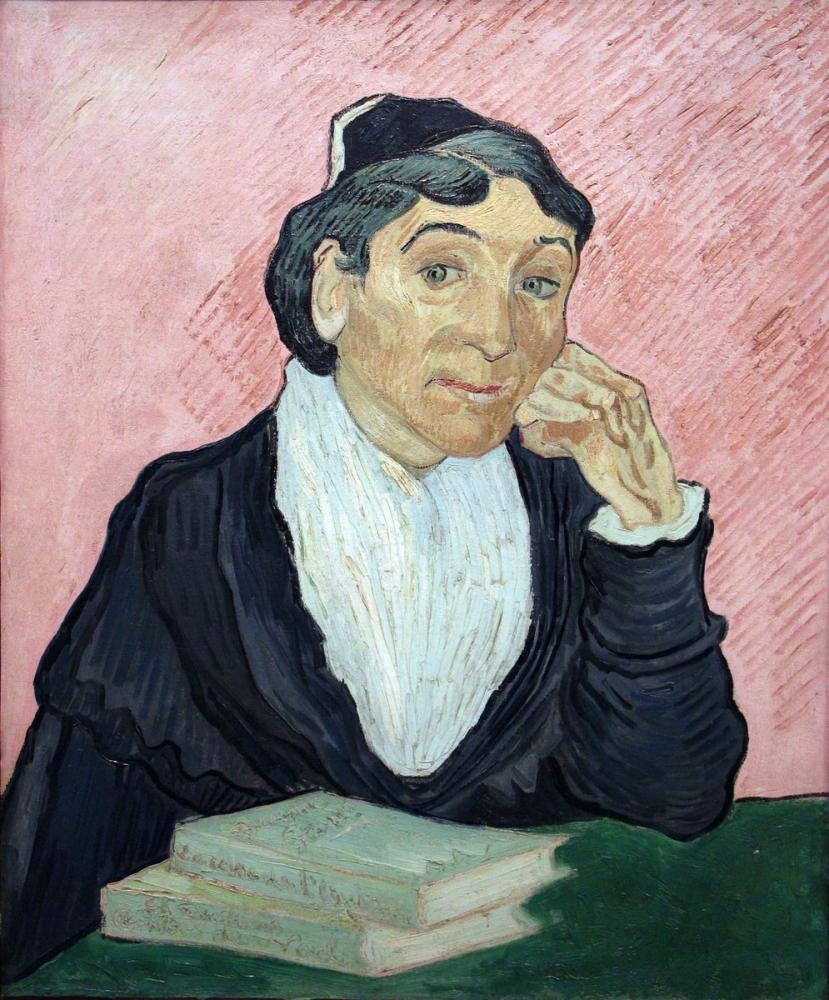 Vincent van Gogh, L arlesiana, Canvas, Vincent Van Gogh, kanvas tablo, canvas print sales