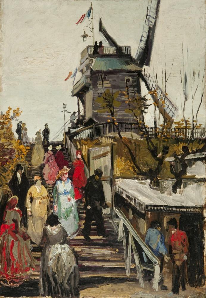 Vincent van Gogh, Son Öğütme Değirmeni, Kanvas Tablo, Vincent Van Gogh, kanvas tablo, canvas print sales