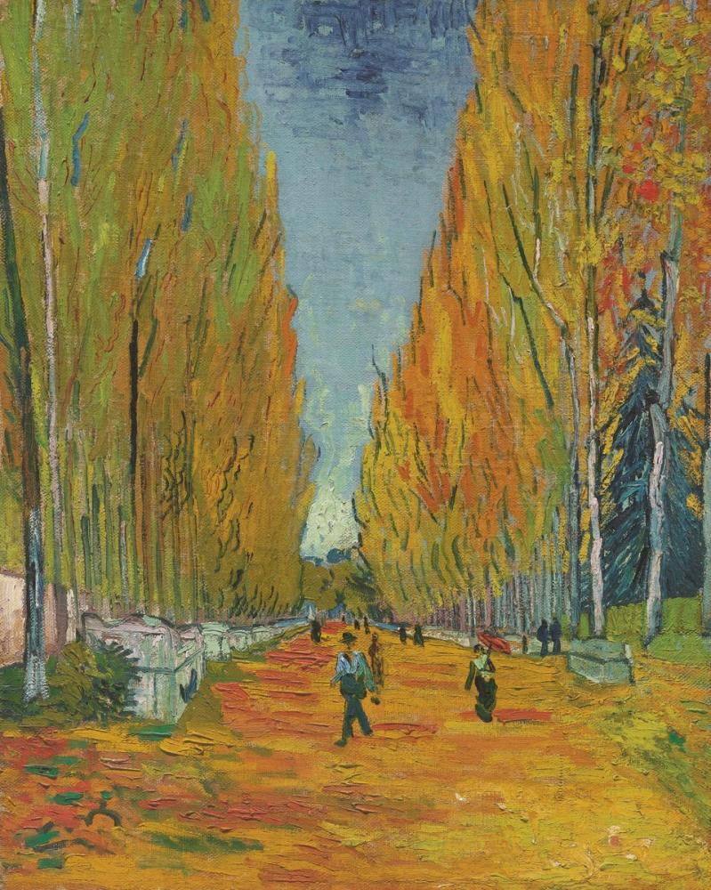 Vincent van Gogh, Les Alyscamps, Kanvas Tablo, Vincent Van Gogh, kanvas tablo, canvas print sales