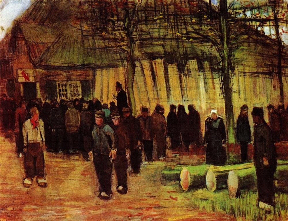 Vincent van Gogh, Lumber Sale, Canvas, Vincent Van Gogh, kanvas tablo, canvas print sales