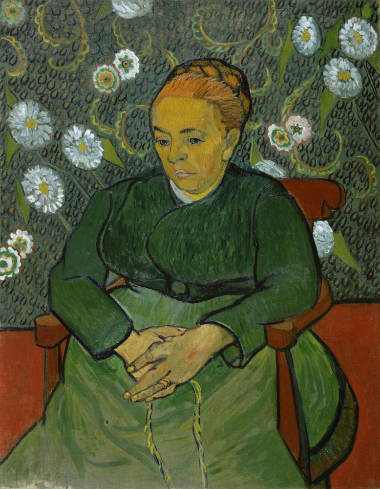 Vincent van Gogh, Madame Roulin Rocking The Cradle, Canvas, Vincent Van Gogh, kanvas tablo, canvas print sales
