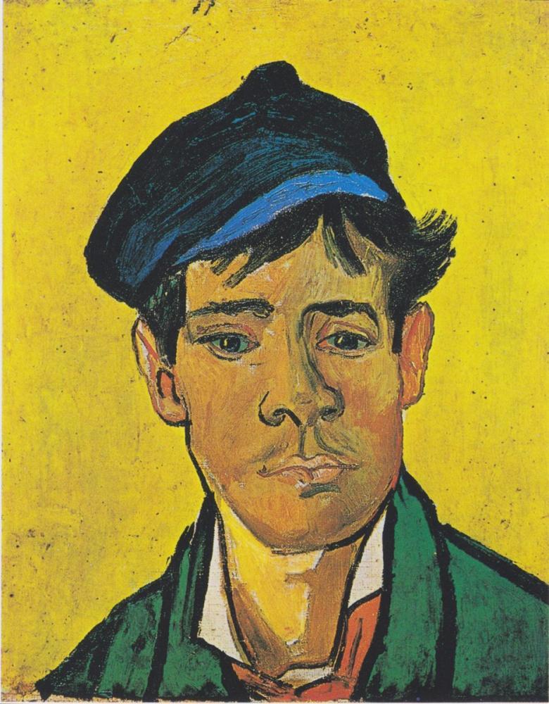 Vincent van Gogh, Şapkalı Adam, Kanvas Tablo, Vincent Van Gogh, kanvas tablo, canvas print sales