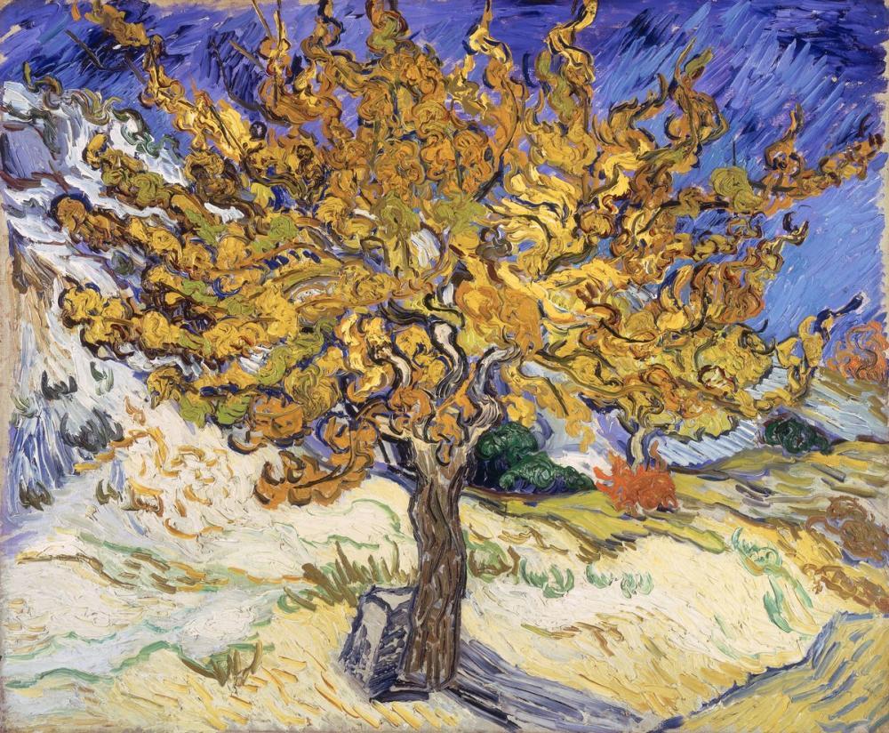 Vincent van Gogh, Maulbeerbaum, Canvas, Vincent Van Gogh, kanvas tablo, canvas print sales