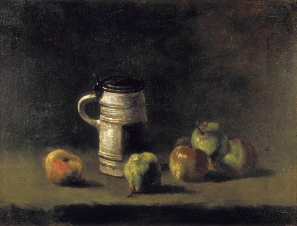 Vincent van Gogh, Mug and Pears, Canvas, Vincent Van Gogh, kanvas tablo, canvas print sales