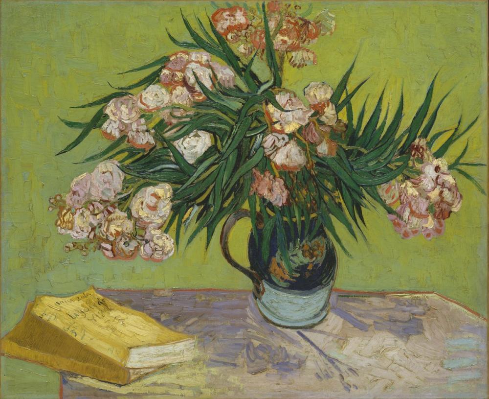 Vincent van Gogh, Oleanders, Canvas, Vincent Van Gogh, kanvas tablo, canvas print sales