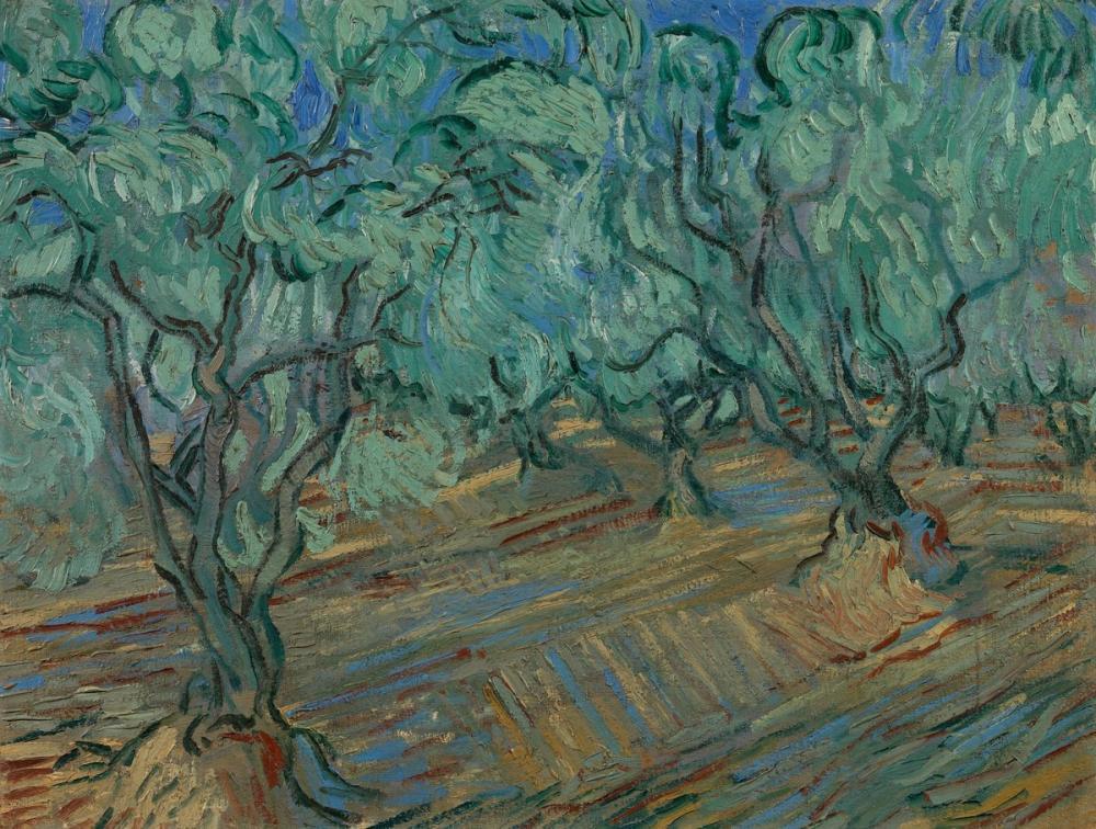 Vincent van Gogh, Zeytinlik, Kanvas Tablo, Vincent Van Gogh, kanvas tablo, canvas print sales