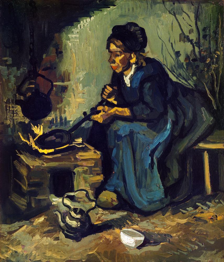 Vincent van Gogh, Peasant Woman, Canvas, Vincent Van Gogh, kanvas tablo, canvas print sales