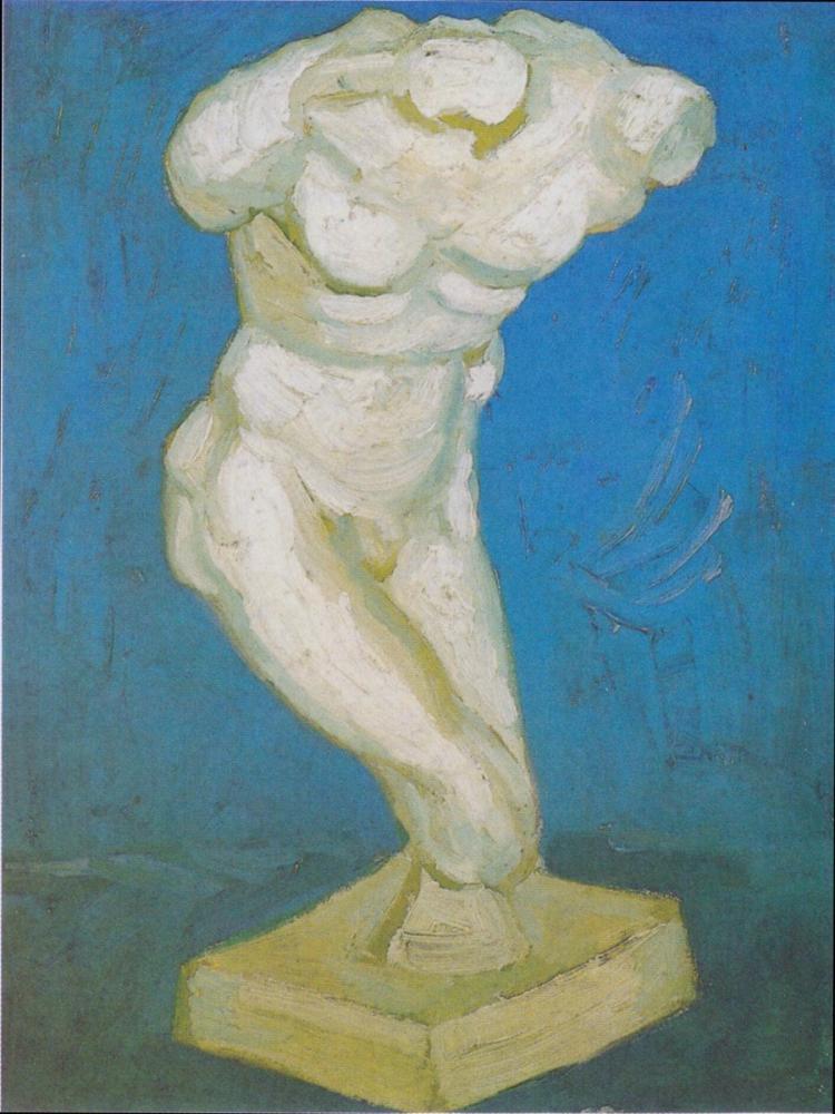 Vincent van Gogh, Alçı Gövdesi Erkek, Kanvas Tablo, Vincent Van Gogh, kanvas tablo, canvas print sales
