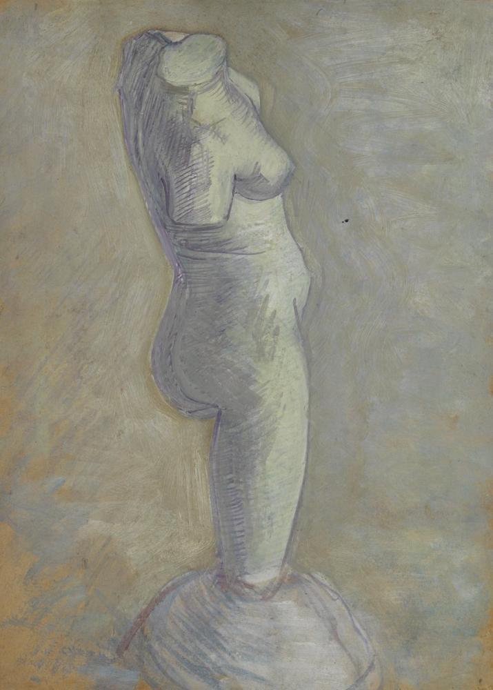 Vincent van Gogh, Plaster Woman Torso, Canvas, Vincent Van Gogh, kanvas tablo, canvas print sales