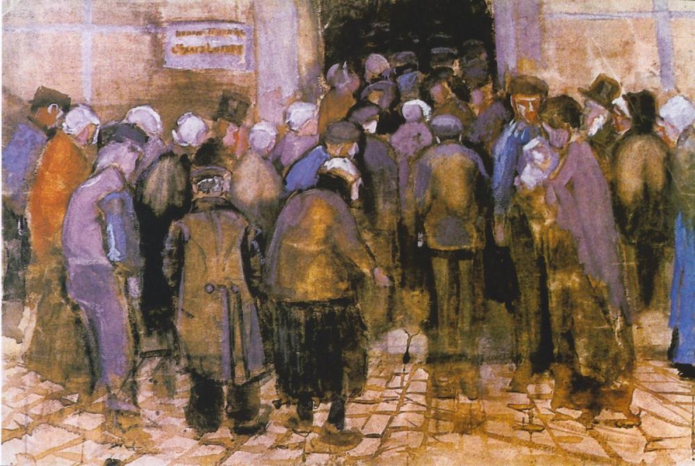 Vincent van Gogh, Poor People, Canvas, Vincent Van Gogh, kanvas tablo, canvas print sales