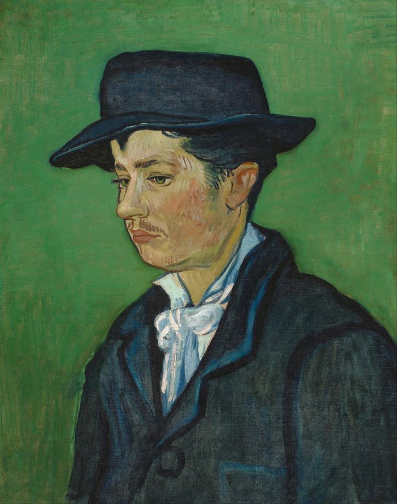 Vincent van Gogh, Portrait of Armand Roulin, Canvas, Vincent Van Gogh, kanvas tablo, canvas print sales