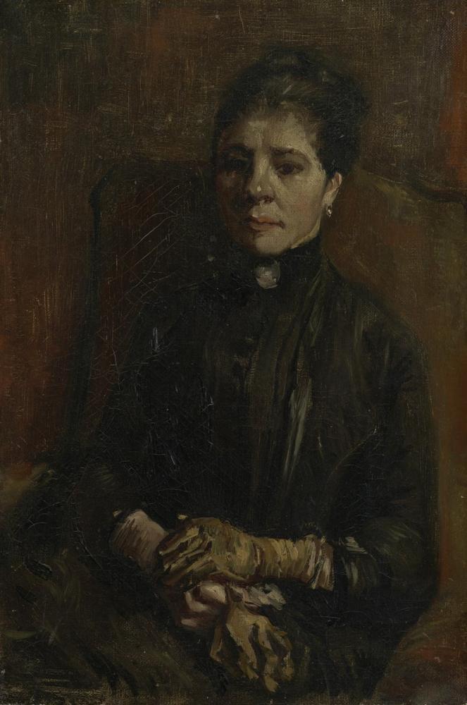 Vincent van Gogh, Portrait of a Woman, Canvas, Vincent Van Gogh, kanvas tablo, canvas print sales